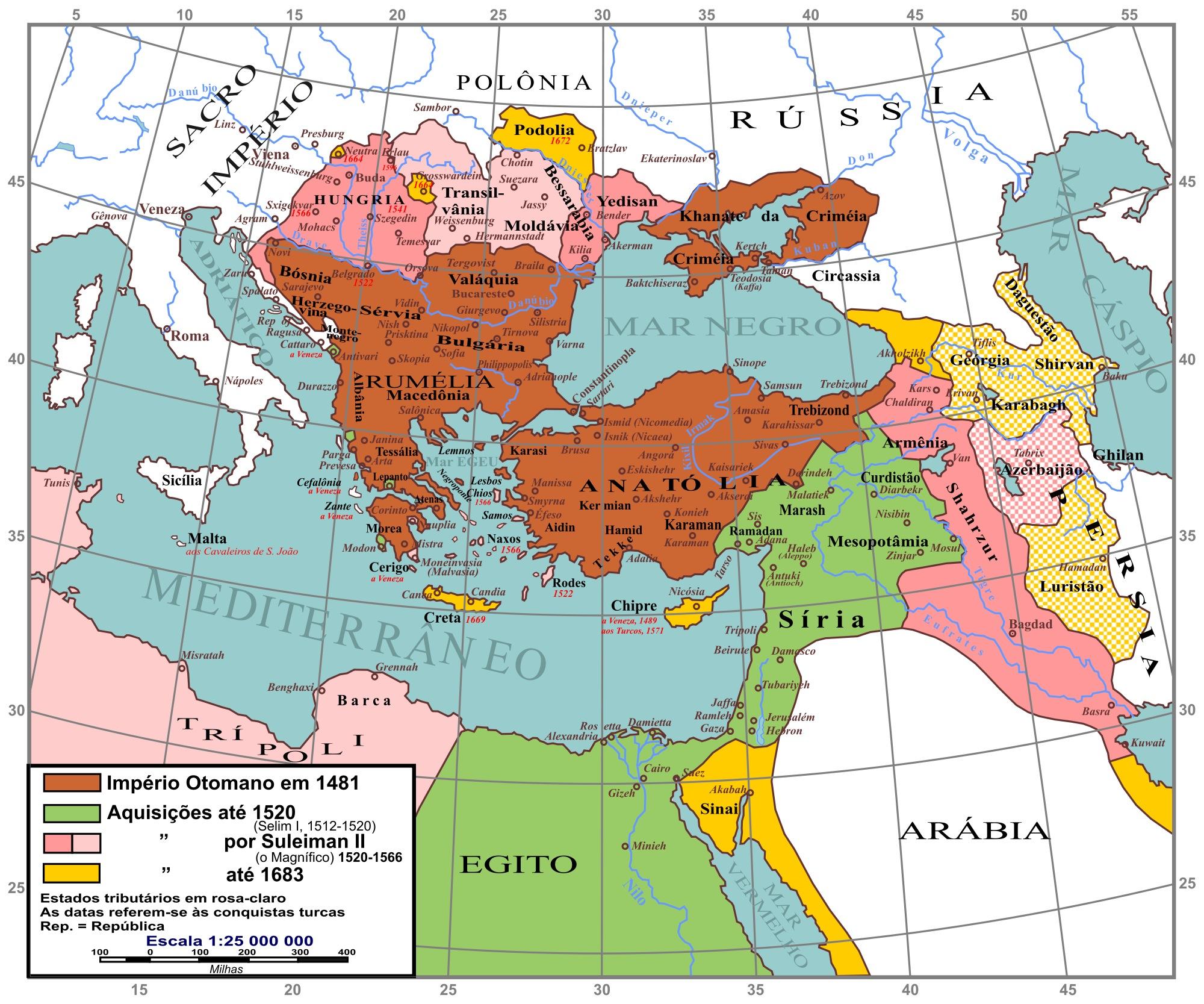 Império Otomano na Europa