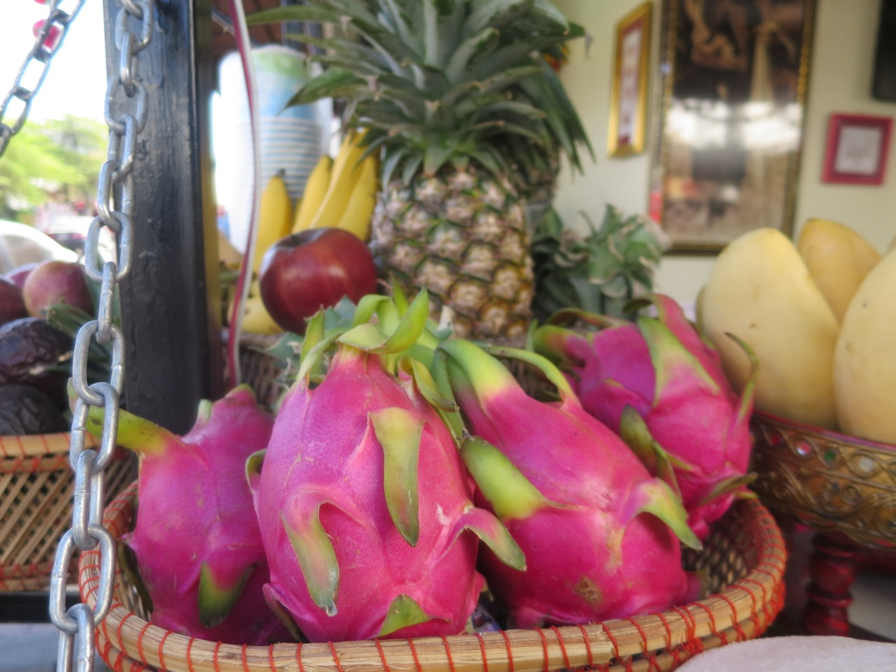 Fruta dragão - pitaia