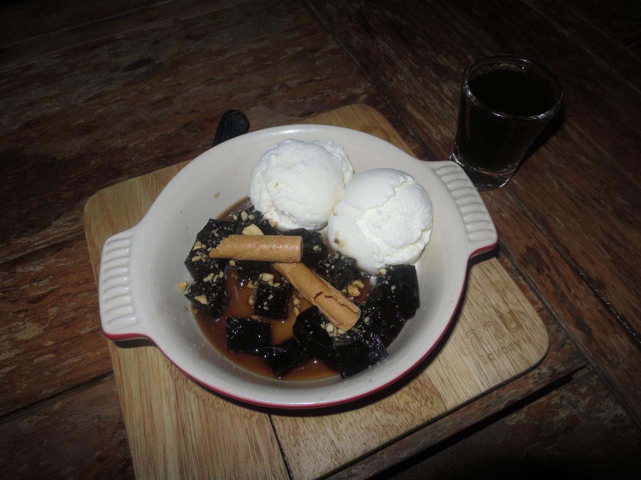 Geleia negra thai