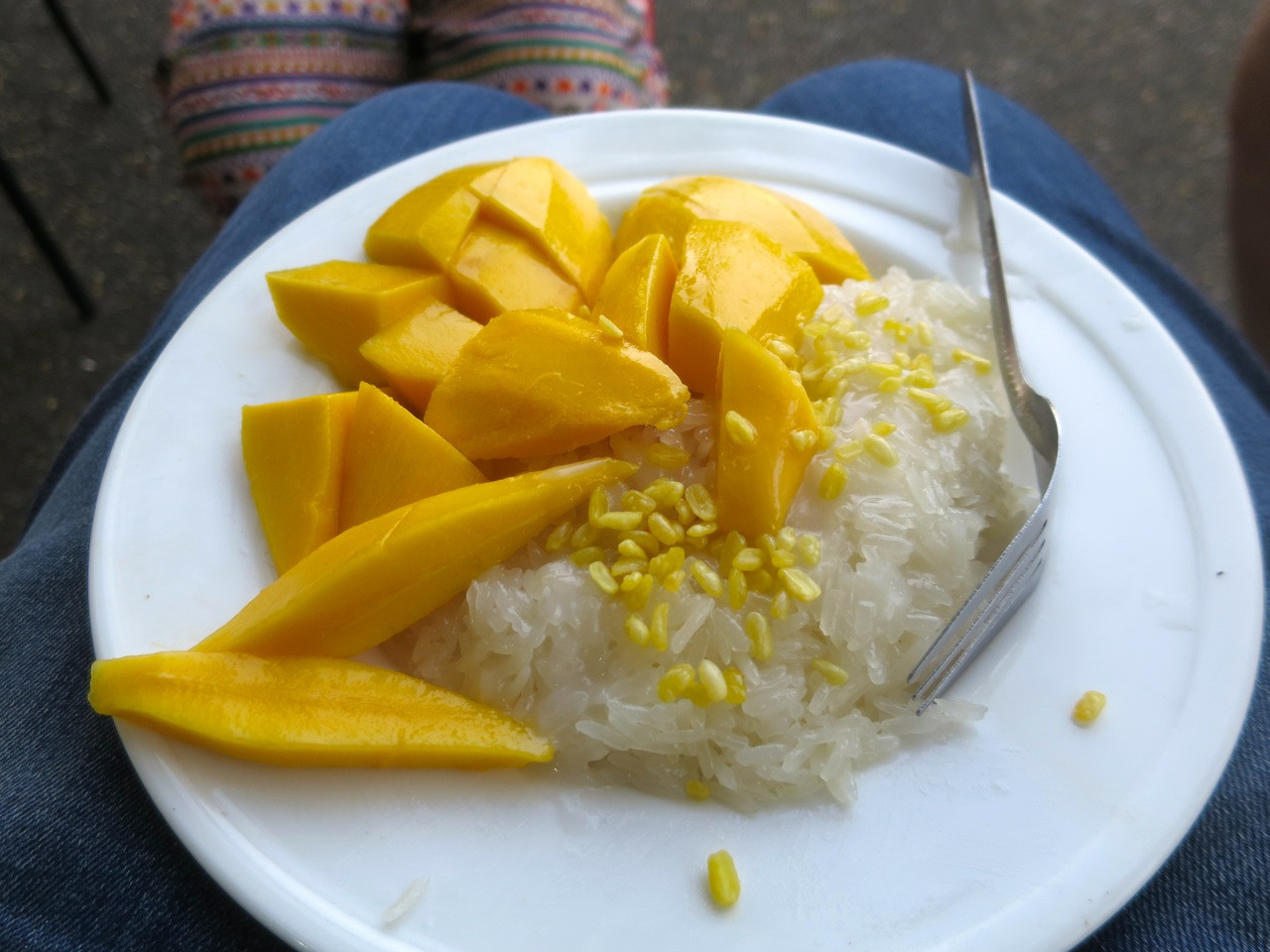 Mango with sticky rice 2