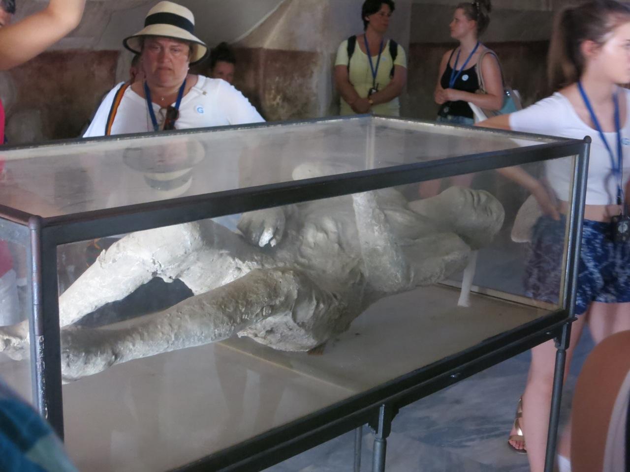 Pompeia pessoa petrificada