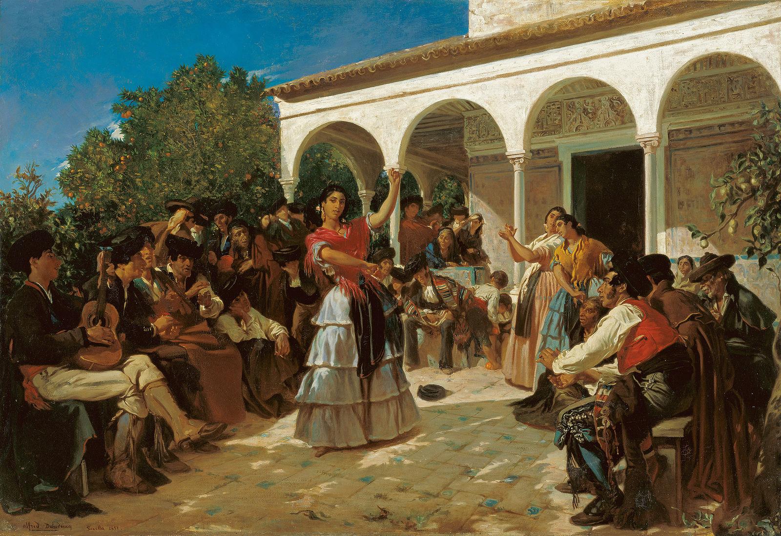 Quadro Dança Cigana
