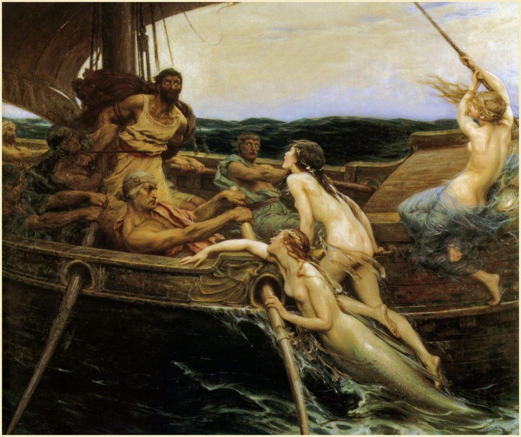Ulisses e as sirenes
