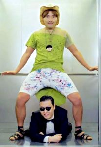 Seul 1 elevator guy gangnam