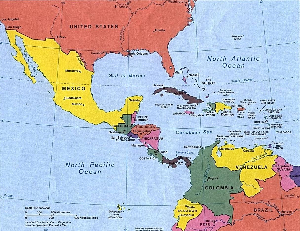 Panama mapa