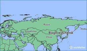 Blagoveshchensk 1 mapa