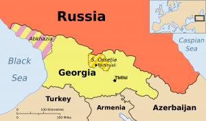 Georgia Ossetia Russia and Abkhazia