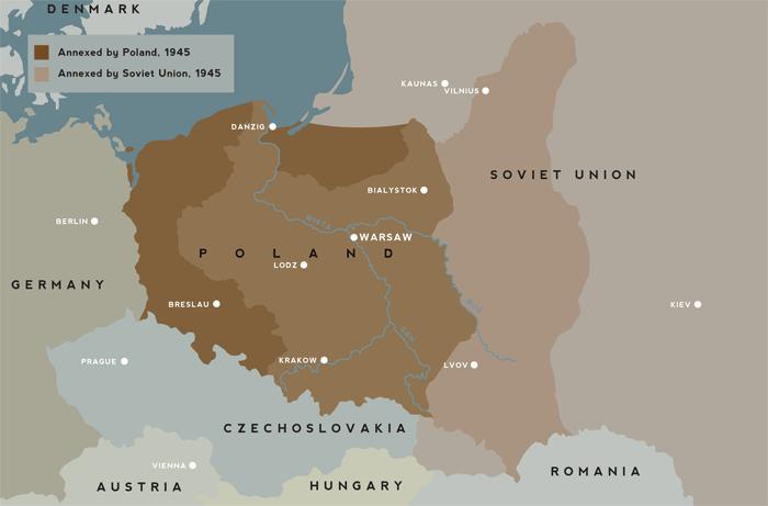 Poland map ww2