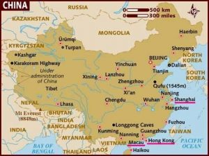 Hong Kong and Macau map 1