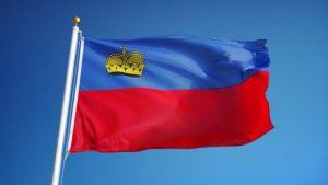 Bandeira Liechtenstein
