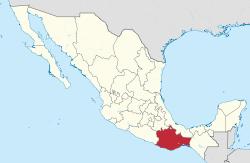 Oaxaca mapa