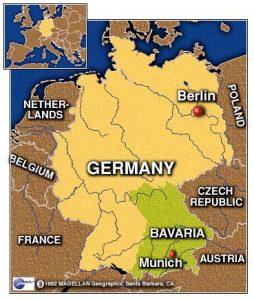 Bavaria mapa 02