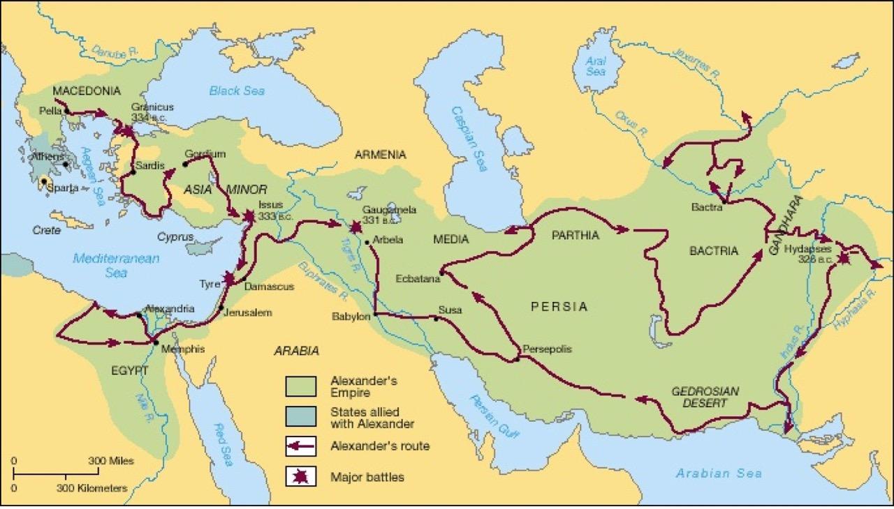 Campanhas de Alexandre na Asia