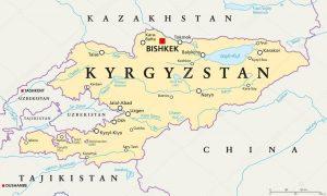 Mapa Quirguistao 2