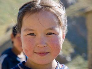 Menina quirguiz