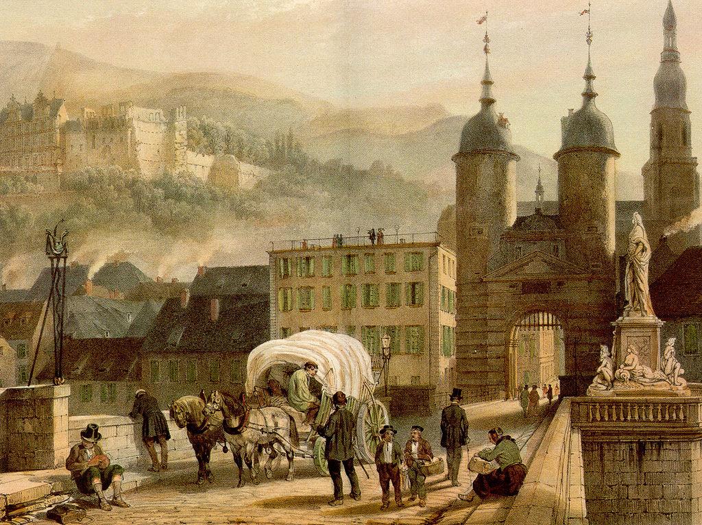 1024px Alte Bruecke Heidelberg von Konrad Linck 1788