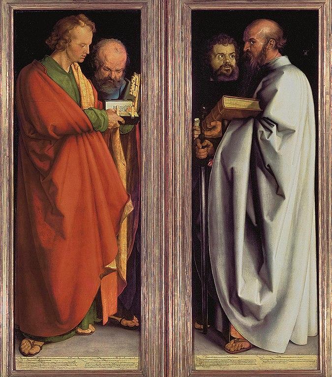 675px Vier Apostel Albrecht Duerer