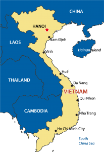 Map of Vietnam 02