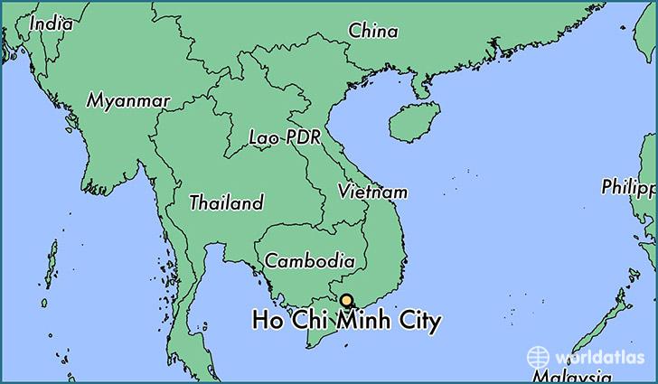 23130 ho chi minh city locator map