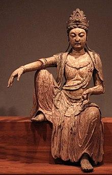 220px Kuan yan bodhisattva Northern Sung dynasty China c. 1025 wood Honolulu Academy of Arts