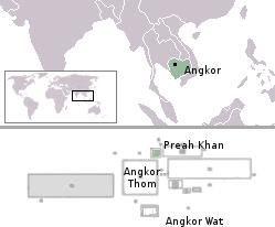 Angkor no mapa mundi