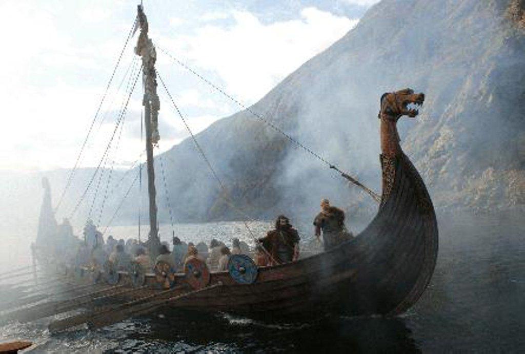 Navio Viking desenho
