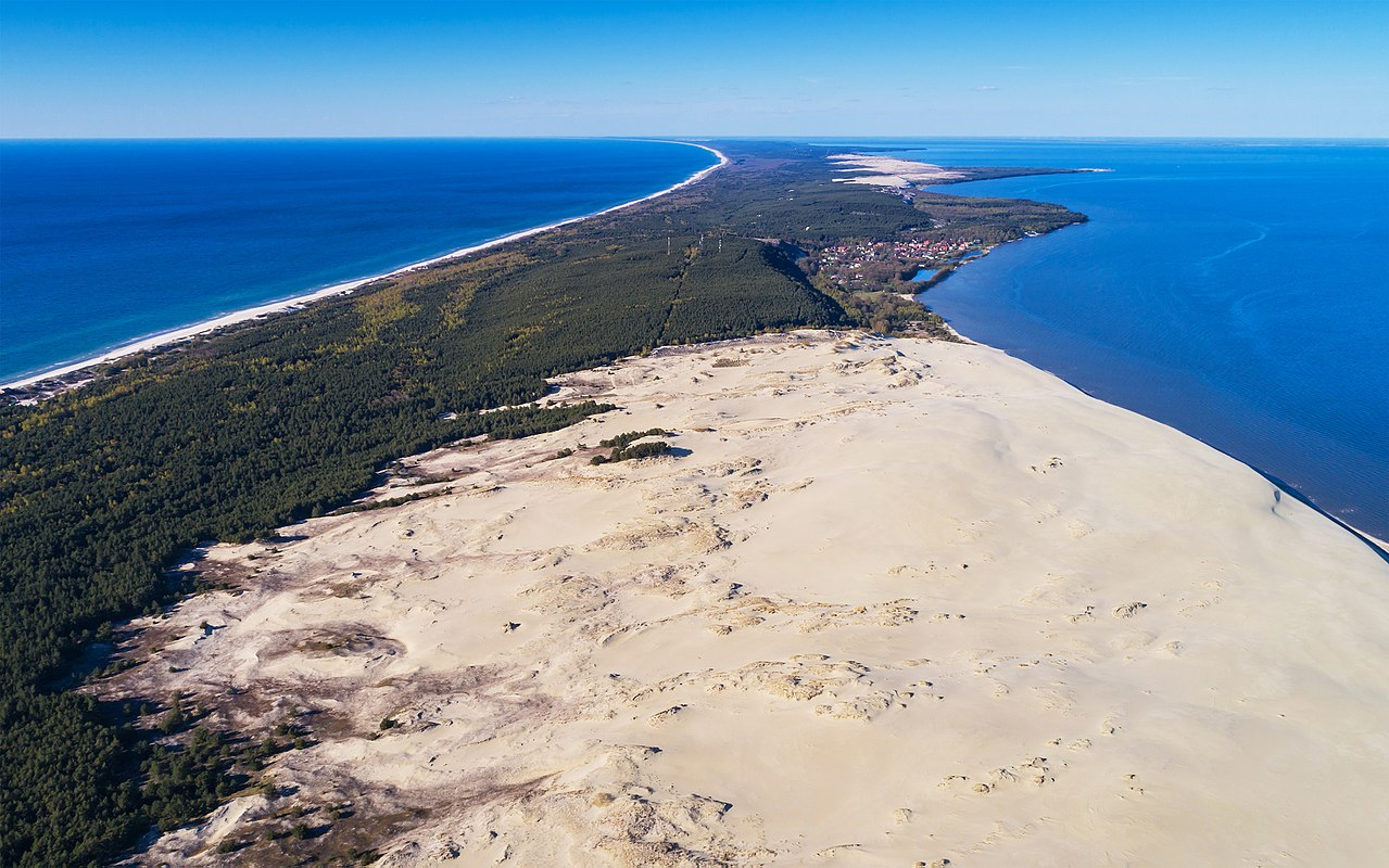 Curonian Spit from above