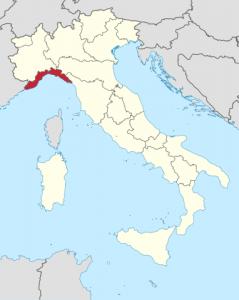 Liguria mapa