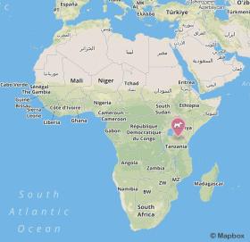 Ngorongoro no mapa 01