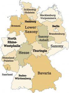 Estados da Alemanha