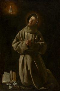 Francisco de Zurbarán Sto Antonio de Padua