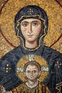Maria em Hagia Sophia