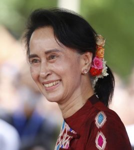 Aung San Suu Kyi retrato