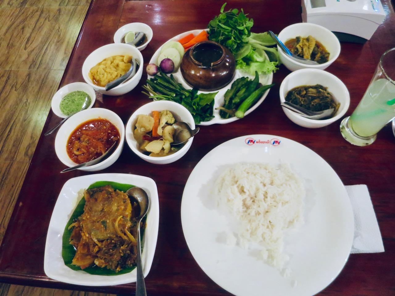 Culinária birmanesa