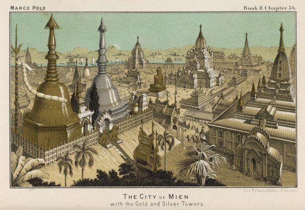 Marco Polo em Bagan