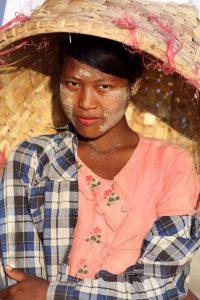 Povo birmane em Myanmar