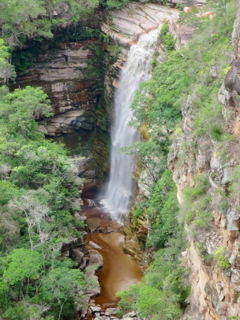 Cachoeira do Mosquito vista do alto