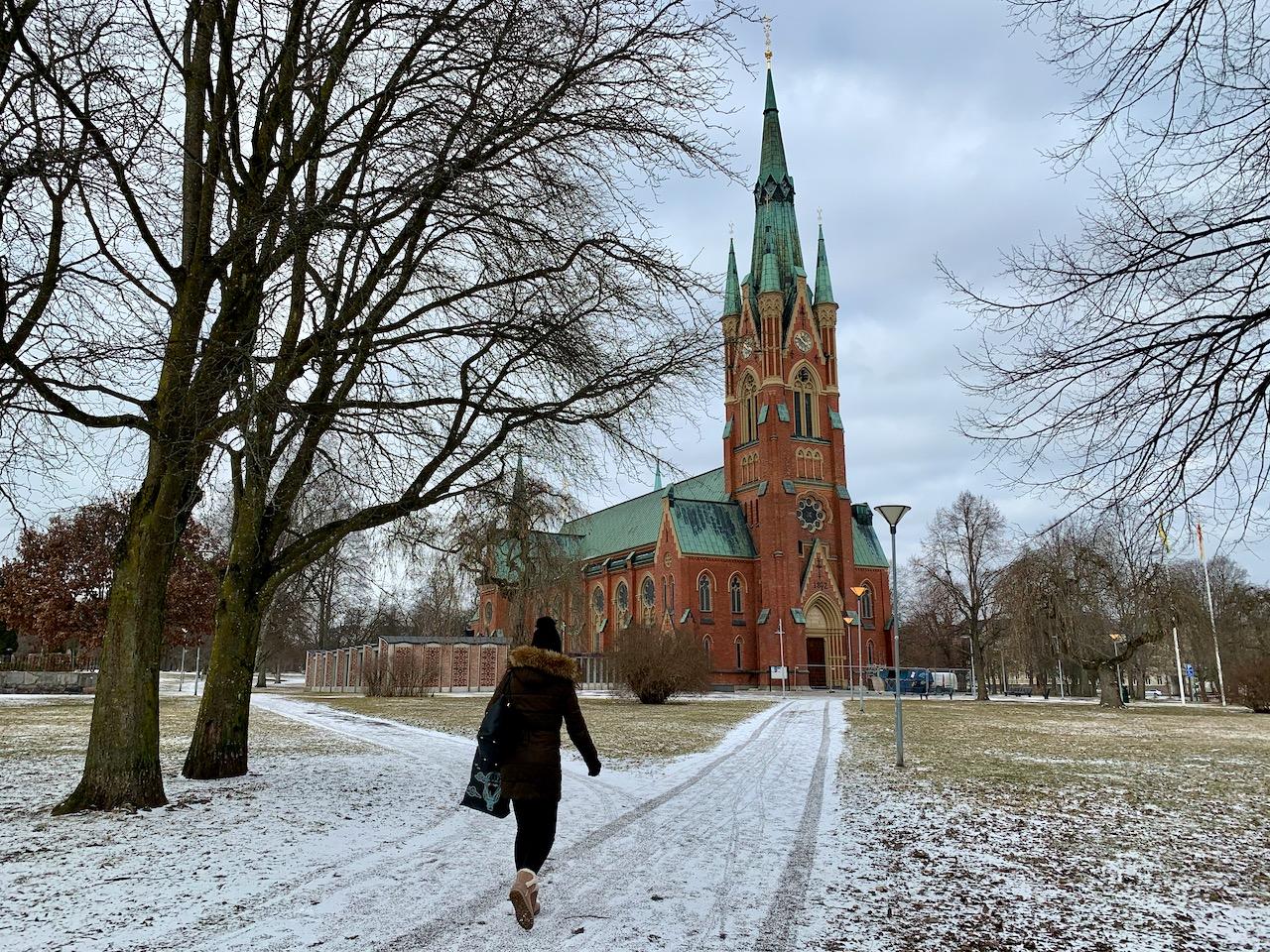 A Igreja de São Mateus em Norrköping