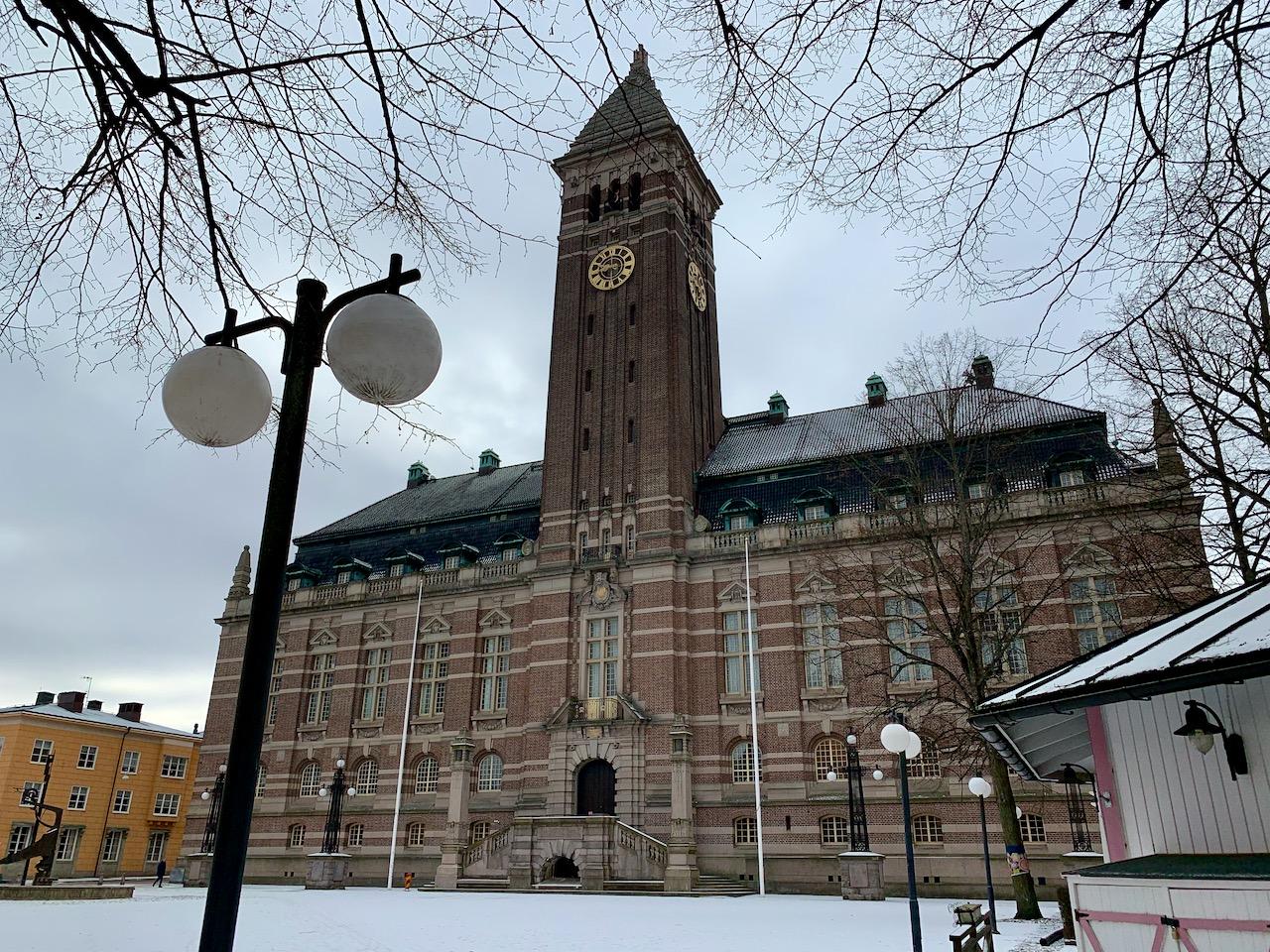 A prefeitura de Norrköping