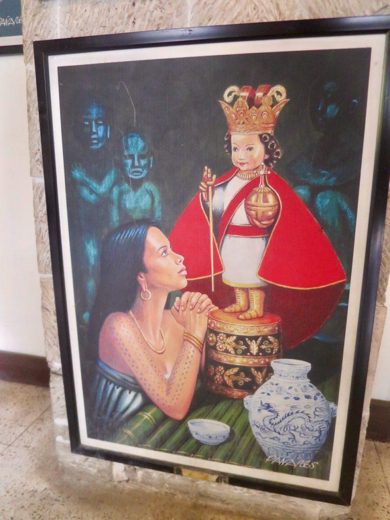 Imagem do Santo Niño de Cebu