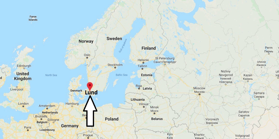 Lund no mapa 01
