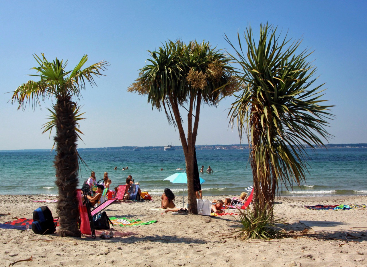 Praia Tropical em Helsingborg