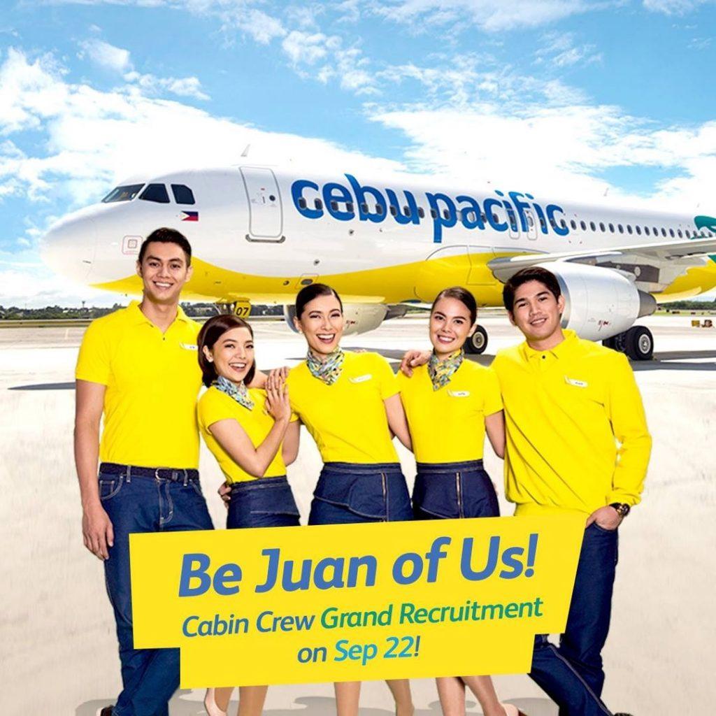 Tripulação da Cebu Pacific