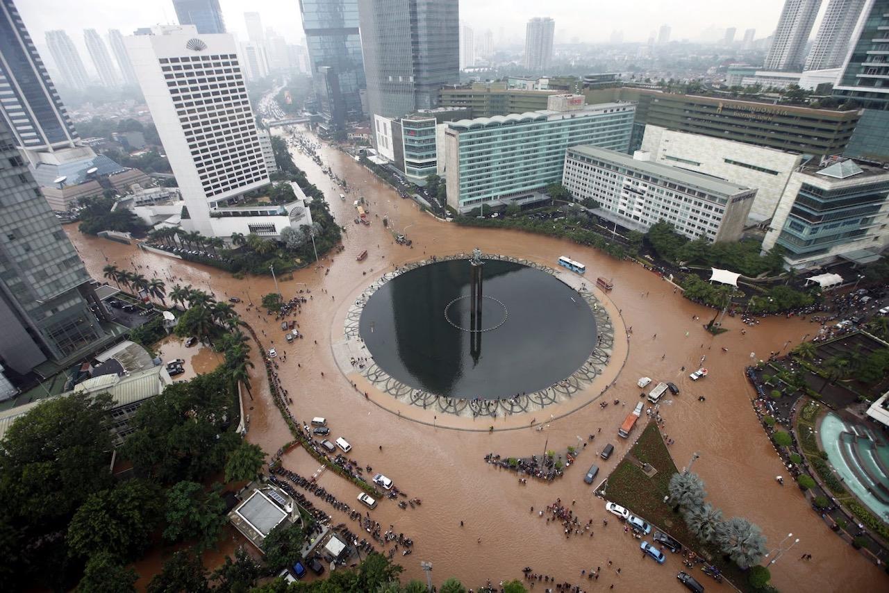 Jakarta inundada