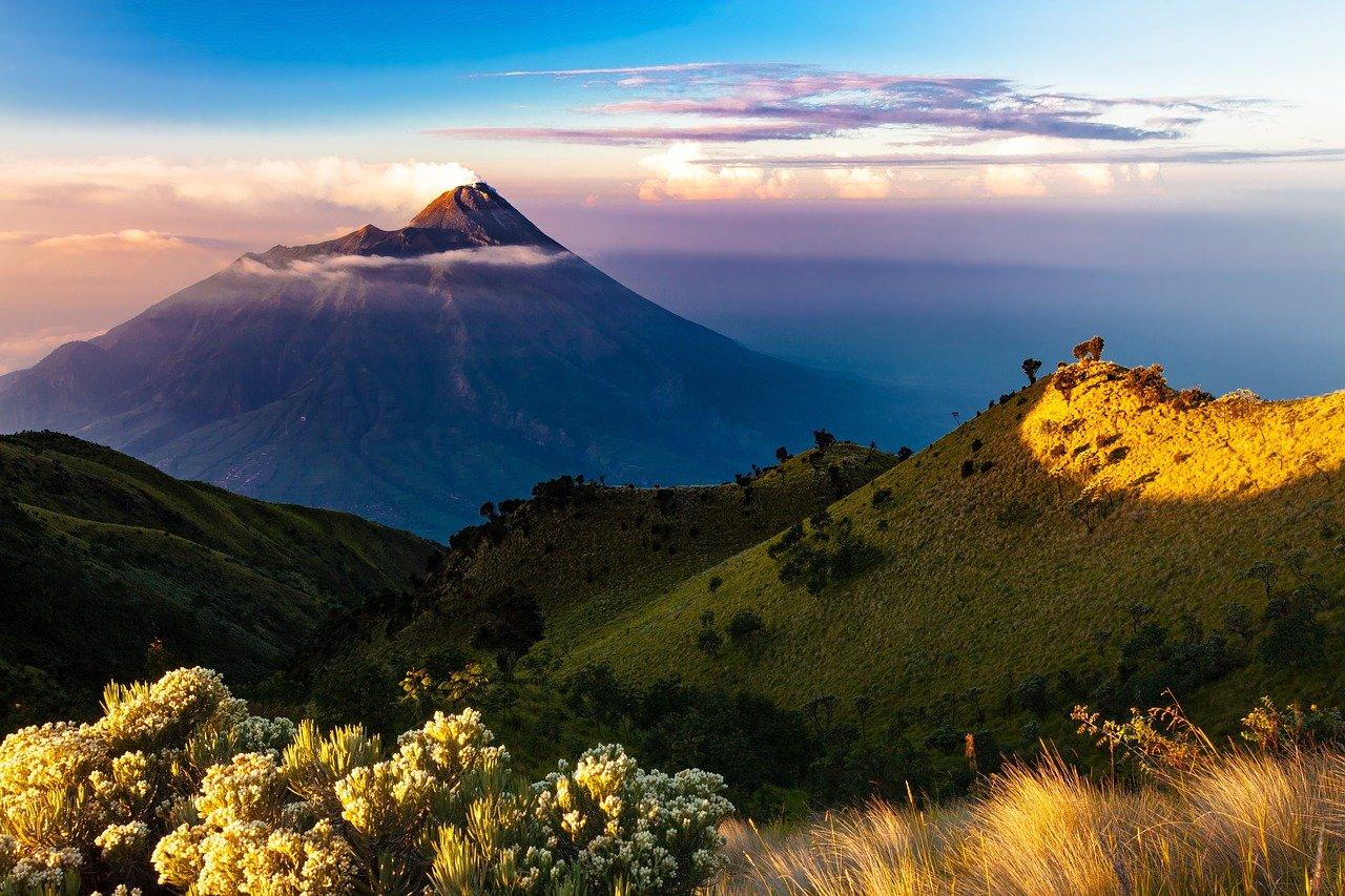 Paisagem Ilha de Java