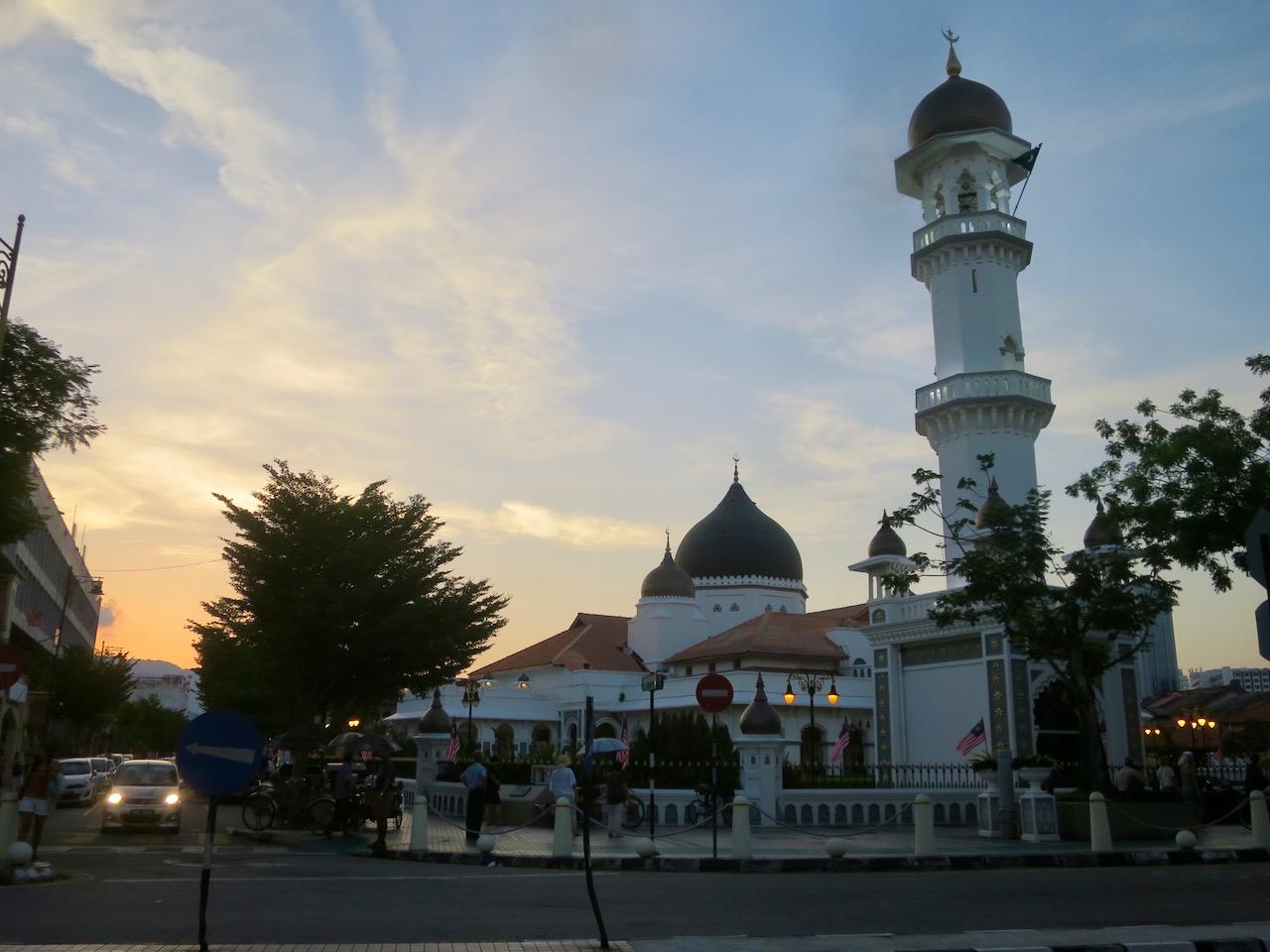 A Mesquita do Capitão Keling em Penang