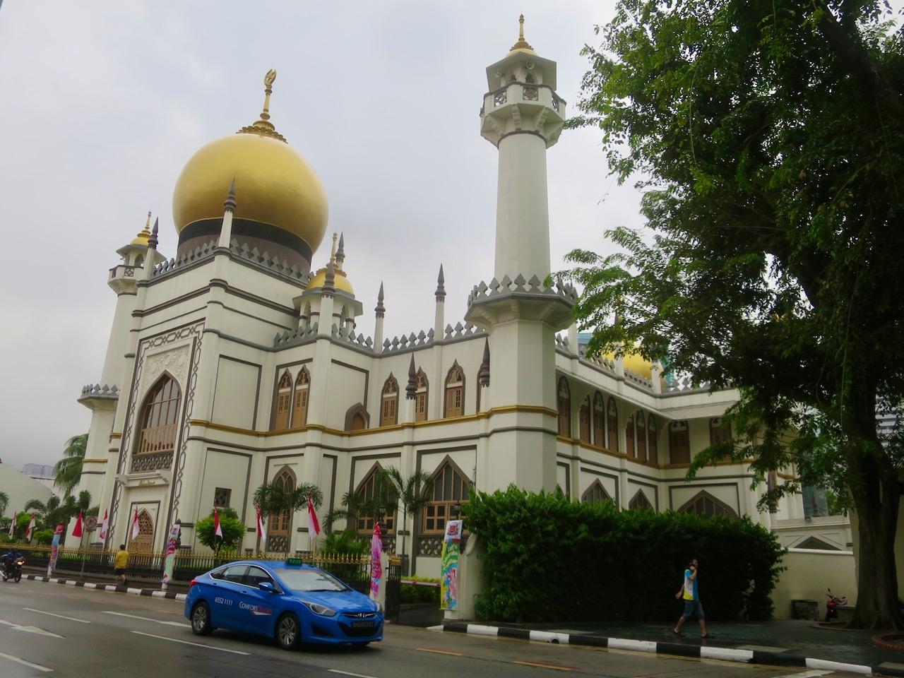 Mesquita emblema de Singapura