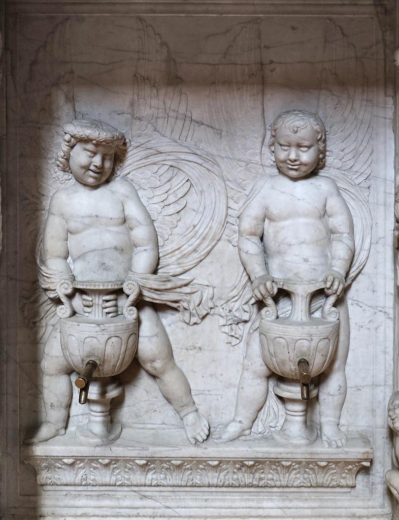 786px Buggiano e di Pagno di Lapo lavabo della sagrestia dei canonici 1445 03