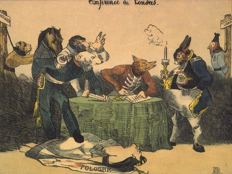 A conferencia de Londres 1830