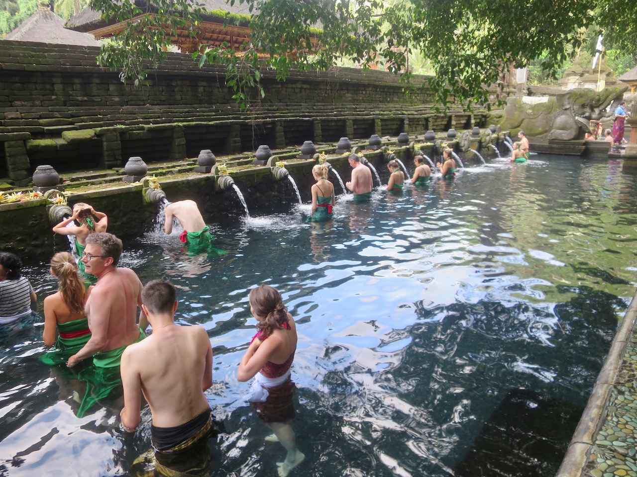 Templo de Fontes Sagradas em Bali